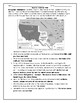 Mexican American War/ Mexican Cession Map Worksheet with Answer Key