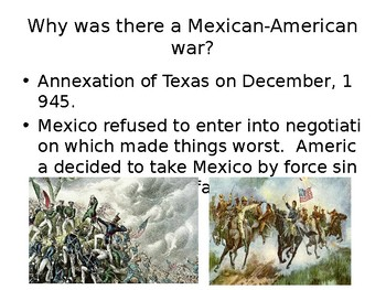 Mexican American War Timeline of Events
