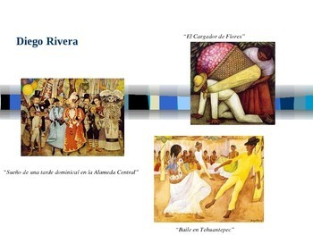 Mexican Artists Powerpoint in Spanish