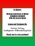 Mexican California Land Grant and Diseno