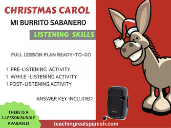 Mexican Christmas – Listening Activity