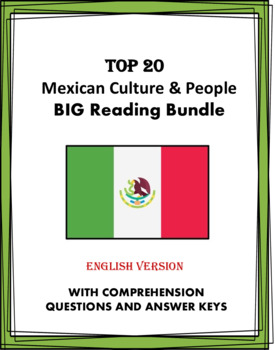Mexican Culture, Holidays & People Bundle: 15 Readings @40% off! (English)