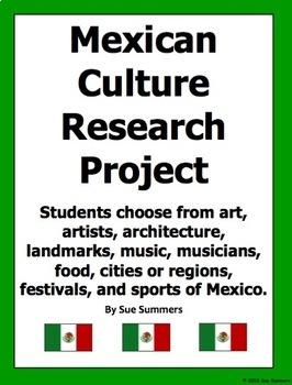 Mexican Culture Research Project - La Cultura Mexicana