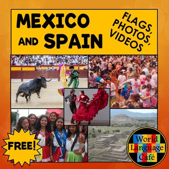 Mexico, Spain Culture, PPT, Photos, Mexican Flag, Video Clips, Interesting Facts
