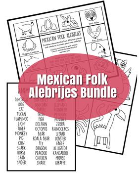 Mexican Folk Alebrijes