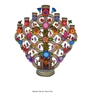 Mexican Folk Art Porcupine Visual Examples