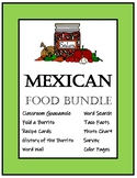 Mexican Food Comida Mexicana Bundle For All Ages