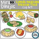 Mexican Food Comida Mexican Clip Art