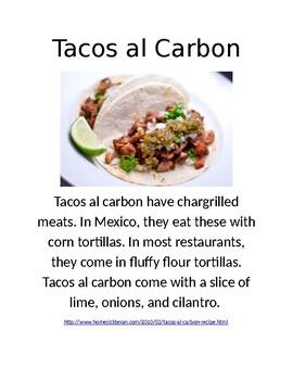 Mexican Food Homework