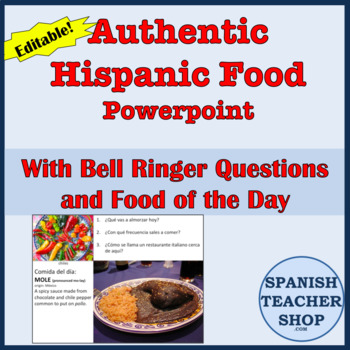 Authentic Hispanic Food Powerpoint