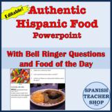 Authentic Hispanic Food Powerpoint