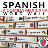 Mexican Food Vocabulary - La Comida Mexicana