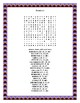 Mexican Food Word Search and Double Puzzle- Cinco de Mayo