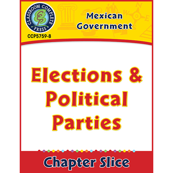 Mexican Government: Elections & Political Parties Gr. 5-8