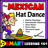 Mexican Hat Dance Music Activities: Dance Lesson Plan Boomwhackers Rhythm Sticks