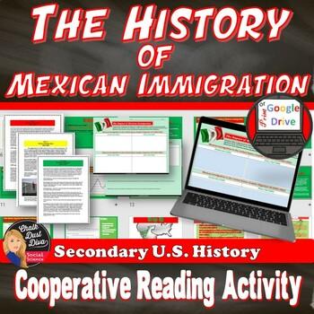 Mexican Immigration Activity (U.S. History) -Bracero Program (Google Drive)