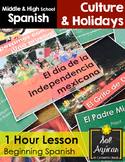 Mexican Independence 1 Hour Lesson - Beginning Spanish Mid