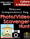Mexican Independence Day - Photo & Video Scavenger Hunt - 100% English