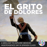 Mexican Independence Day plans for Spanish class & El grito de Dolores + DIGITAL