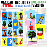Mexican Loteria   Kid Friendly   30 Game Cards Included