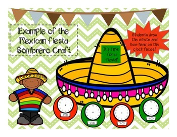 Mexican Math Sombrero Craft and Activity Sheets
