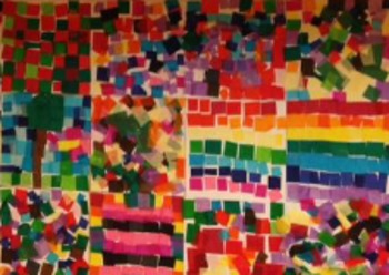 Mexican Mosaic Tile Project With Spanish Color Practice By Spanishspot