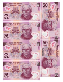 Mexican Pesos ($20, $50, $100, $500, and $1000) For Games/Participation Spanish