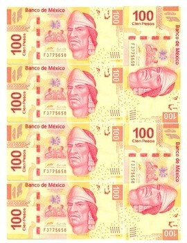 Mexican Pesos ($20, $50, $100, $200, $500 and $1000) Games/Participation Spanish
