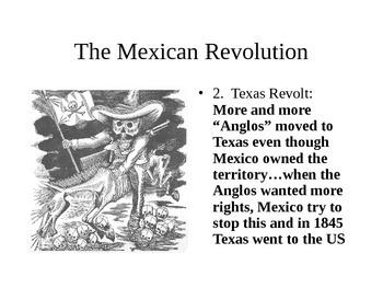 Mexican Revolution Bingo