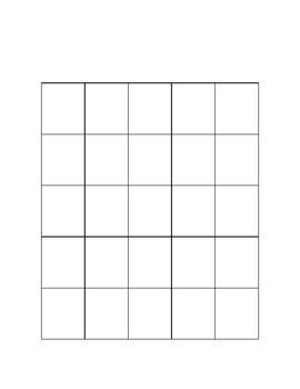 Mexican Revolution Bingo Board, Organizer, and Key
