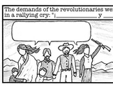 Cartoon Worksheet: Mexican Revolution