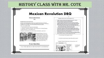 Mexican Revolution DBQ