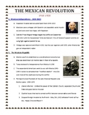 Mexican Revolution Notes