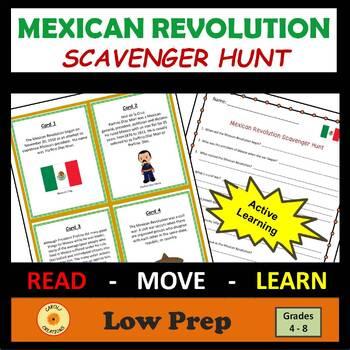 Mexican Revolution Scavenger Hunt