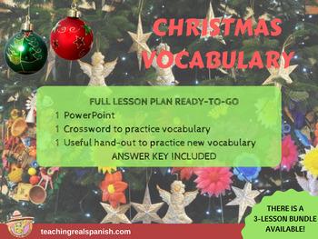 Mexican Spanish Christmas Vocabulary