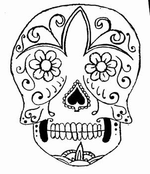 Mexican Sugar Skull Recipe for the Classroom