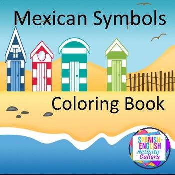 Mexican Symbols Coloring Book