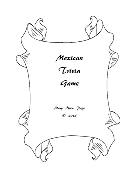 Mexican Trivia Game and Test