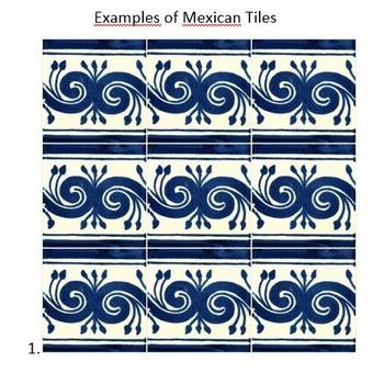Mexican culture -- Talavera Tiles