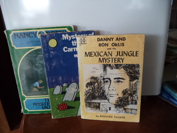 MexicanJungle Mystery,Mystery of Red Carn,Nancy Drew (set of 3)