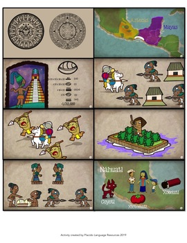 Mexicas (Aztecas) y Mayas Spanish Reading & Activities #AUTHRES
