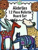 Mexico Alebrije & Marigolds 10 Piece Bulletin Board Set