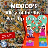 Mexico! Alley of the Kiss Pop Up Card Craft - Valentine's Day