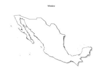 Mexico Blank Map by MrFitz | Teachers Pay Teachers