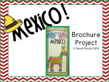 Cinco de Mayo Mexico Brochure Project