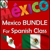 Mexico Bundle in Spanish - Power Points, Notes, Movie Unit