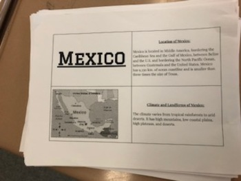 Mexico Case Study Flip Book
