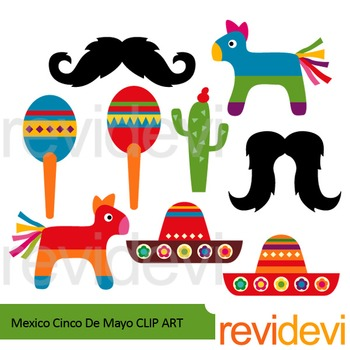 Mexico Cinco De Mayo Clip Art Resource