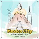Mexico City Info Gap: Communicative Activity in English