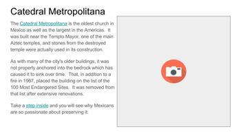 Mexico City Virtual Field Trip